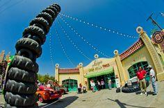 luigi's flying tires.