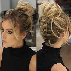 Let's Party: Beauty Inspirations For Holiday Party Night – Lupsona - frisuren - Wedding Hairstyles Box Braids Hairstyles, Party Hairstyles, Cute Hairstyles, Gorgeous Hairstyles, Hairstyle Ideas, Romantic Hairstyles, Wedding Hairstyles, Simple Braided Hairstyles, Fringe Hairstyle
