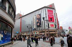 Mitsukoshi department store at Ginza