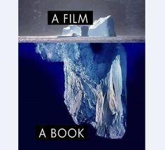 A film vs. the book visual.