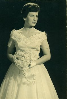 Ellen Shull wedding - May 1957