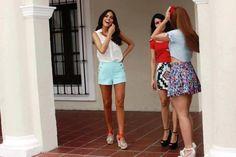 Ximena navarrete Classy spring oufits bright colors semi formal color block