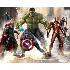 Walltastic The Avengers Wallpaper Mural