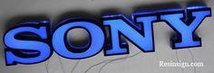 Led resin sign | LED Epoxy Sign Letters | Resinsign.com