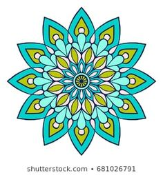 Flower Mandala. Vintage decorative elements. Oriental pattern, vector illustration. Islam, Arabic, Indian, moroccan,spain, turkish, pakistan, chinese, mystic, ottoman motifs. Coloring book page Mandala Artwork, Mandala Drawing, Mandala Coloring, Coloring Book, Pewter Art, Sacred Geometry Tattoo, African Crafts, Cityscape Art, Doodle Patterns