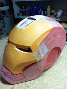 Printing an Ironman Helmet : 11 Steps (with Pictures) - Instructables Iron Man Helmet, 3d Printing, Avengers, Cosplay, Superhero, Pictures, Diy, Iron Man, Men