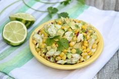 Crab, Avocado & Corn Salad with Cilantro & Lime — The Fountain Avenue Kitchen