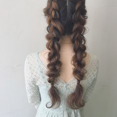 White Mane Box Braids - Top 20 All the Rage Looks with Long Box Braids - The Trending Hairstyle Kawaii Hairstyles, Pretty Hairstyles, Hair Inspo, Hair Inspiration, Inspo Cheveux, Hair Arrange, Hair Reference, Aesthetic Hair, Grunge Hair