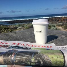 Papers coffee sunshine ocean. What more could you want on a day off? #portfairy by jmwoolley123 http://ift.tt/1UokfWI
