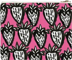 Bold Strawberries by bouffants-broken-hearts