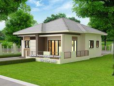 Home Exterior Cottage Bedrooms Ideas Duplex House Plans, Bungalow House Plans, Dream House Plans, Small Bungalow, Modern Bungalow House, House Outside Design, Simple House Design, 4 Bedroom House Designs, House Construction Plan