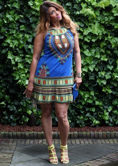 New outfit post online AFRICAN ISS NIGHT OUT | FAB AND LUXURY CURVES www.flcurves.com #CURVES #African tunic.... Need some pants though