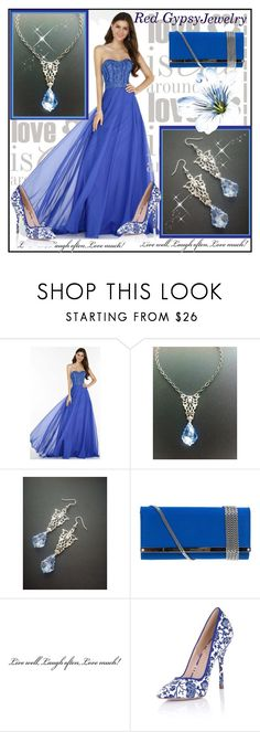 """""""Red Gypsy Jewelry"""" by amra-2-2 ❤ liked on Polyvore featuring Alyce Paris and Paper Dolls"""