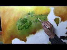 Como pintar folhas de uva - YouTube