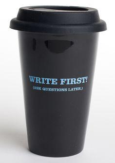 Official 2011 NaNoWriMo coffee mug.