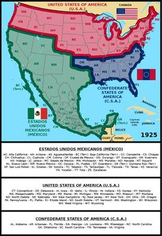 Greater Mexico, USA and CSA by matritum on DeviantArt Black History Facts, World History, Imaginary Maps, Mexican Revolution, Geography Map, Mexican Heritage, Mexico Culture, By Any Means Necessary, Aztec Art