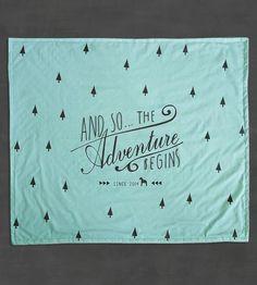 Adventure Baby Blanket