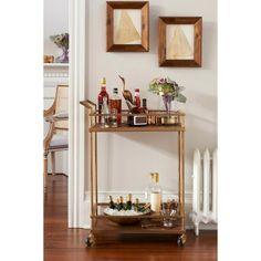 love this for corner of living room. Bar Cart
