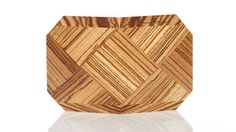 Zebrawood clutch by BowensBergeron.  so pretty!