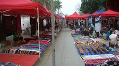 Luang Prabang night market - the gentlest market in South East Asia
