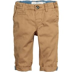 Chinos $12.99 ($13) ❤ liked on Polyvore featuring pants, childrens clothes, chinos pants, chino trousers, beige pants, stretch waist pants and elastic waist pants