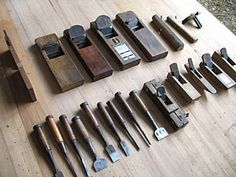 Japanese woodworking tools                                                                                                                                                                                 Más
