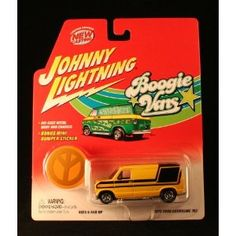 1976 FORD ECONOLINE 150 * YELLOW * Johnny Lightning 2002 BOOGIE VANS Release Two 1:64 Scale Die Cast Vehicle (Toy)  http://howtogetfaster.co.uk/jenks.php?p=B000096O9E  B000096O9E