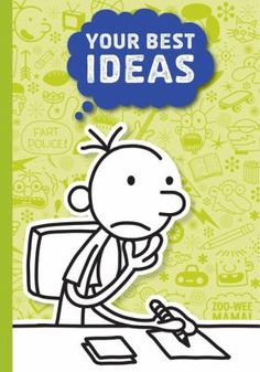 Big kids, little kids, boisterous kids and shy kids alike will enjoy this set of three notebooks based on the bestselling Diary of a Wimpy Kid books by Jeff Kinney. One is lined for thoughts and ideas Teaching Life Skills, Coping Skills, Wimpy Kid Books, Jeff Kinney, Sketch Paper, Writers Notebook, Blank Book, Drawing For Kids, Drawing Ideas
