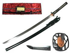 Musashi Takemoto Kobuse Kitae Tamahagane Katana