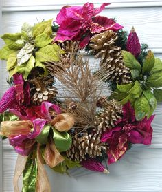 Holiday wreaths - Bright Bold and Beautiful