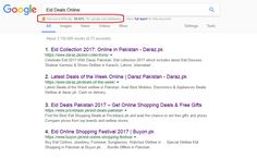 Keyword:  Eid Deals Online with 50.92% difficulty plus high search volume that is optimized for @priceblazepk and get ranked on Google.com.pk in Top 5.  #EidShoppingDeals #PriceBlaze.pk #GoogleSEO #DigitalMarketing