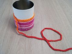 Crochet pen holder with hearty animal motifs - fantasy work Fun Crafts For Kids, Art For Kids, Diy And Crafts, Arts And Crafts, Pencil Holder, Pen Holders, Hobbies For Kids, Work With Animals, Textiles