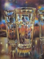 Carnival Glass II 16 x 12 Ranjini Venkatachari