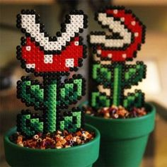 1000 images about crafts decoration on pinterest for Plante carnivore mario