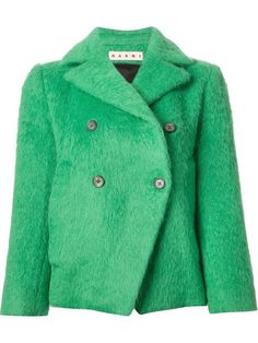 Shop Marni structured peacoat in Tessabit from the world's best independent boutiques at farfetch.com. Over 1000 designers from 60 boutiques in one website.