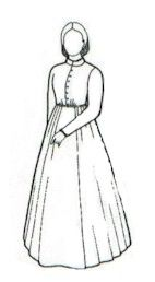 1860's Day Dress Pattern from Patterns of Time