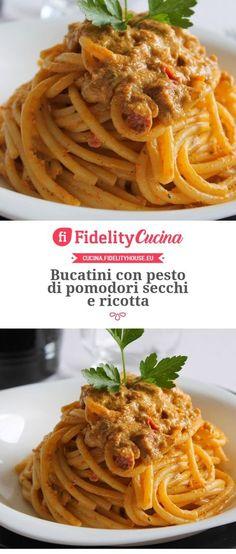 Lombardy - The Other Side of Italian Food Pasta Alla Carbonara, Pasta Al Pesto, Ricotta Pasta, Pasta Recipes, Cooking Recipes, Sicilian Recipes, Italian Pasta, Soul Food, Sauces