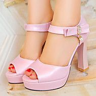 Women's+Shoes+Chunky+Heels/Platform/Open+Toe+Sandals+Party+&+Evening/Dress+Blue/Pink/White+–+USD+$+52.90