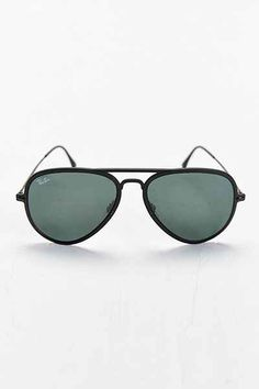 2e18b2fe88200 Ray-Ban Light Ray Matte Black Aviator Sunglasses