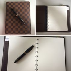 Great Combination Montblanc, Atoma and Louis Vuitton