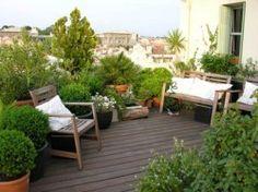1000 images about location meubl e marseille on pinterest buses marseille and cuisine - Terrasse jardin suspendu montreuil ...