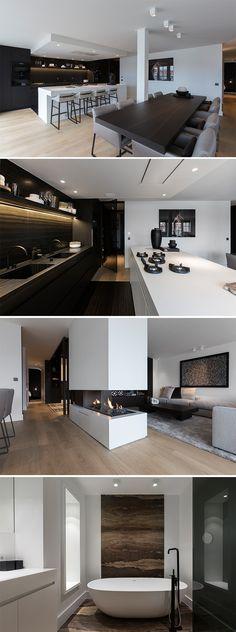 Home Interior, Luxury Interior, Modern Interior Design, Fantasy House, Open Plan Kitchen, Kitchen Living, Beautiful Interiors, My Dream Home, Interior Inspiration