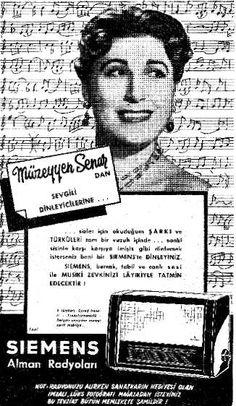 OĞUZ TOPOĞLU : siemens alman radyoları, müzeyyen senar - nostalji...