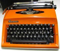 Adler Contessa typewriter