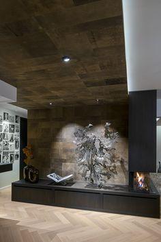 Kings Design Schapenleren Bank.21 Beste Afbeeldingen Van Leren Wandbekleding Leather Walls In