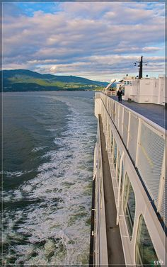 BC Ferries, servicing the coast of BC - one of the largest integrated ferry systems in the world. Vancouver Island, BC