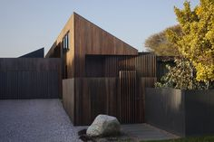 A Timber-Clad Home in Australia Is a Striking Place to Grow Old In - Dwell