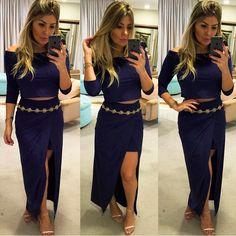 Pah!!! Um conjunto PODEROSO em suede para ARRASAR!!! // @_dress_store_ // #reginasalomao #BeYourSelf #momentoRS #AW16