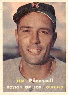 Jimmy Piersall 1957 Topps #75
