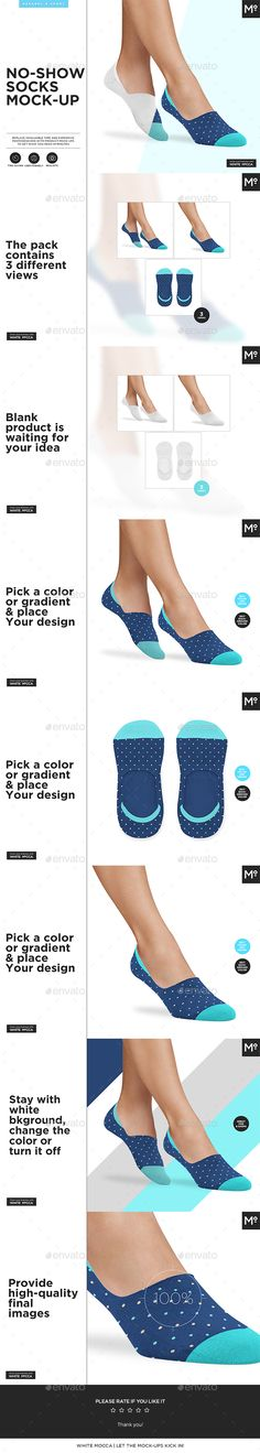 Download No Show Socks Mock Up Miscellaneous Apparel Download Here Https Graphicriver Net Item No Show Socks Mockup 20419511 No Show Socks Mockup Clothing Mockup